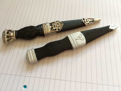 dummy Sgian Dubh compared to a real Skean Dhu