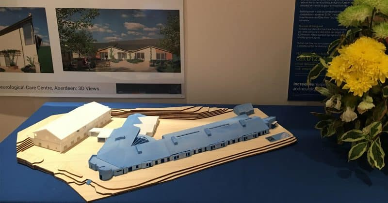 Sue Ryder Dee View Court 3d printed scale model