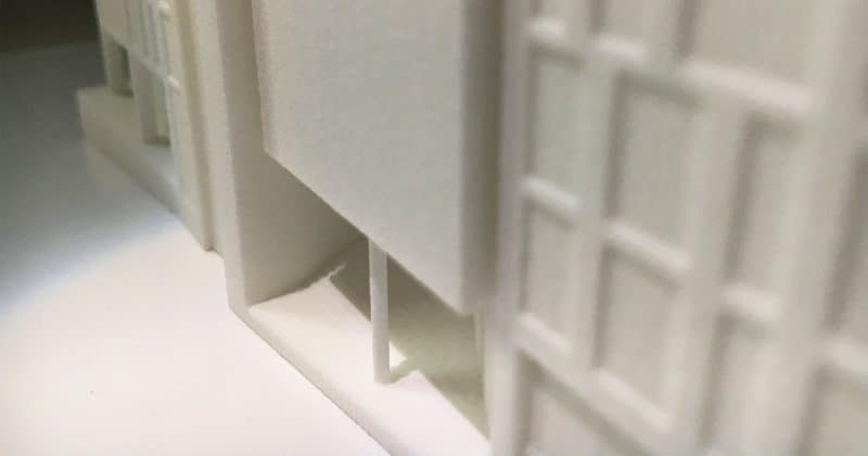 3d print of One Marischal Square, Aberdeen