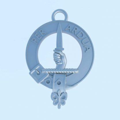 Clan MacIntyre crest with motto: Per Ardua