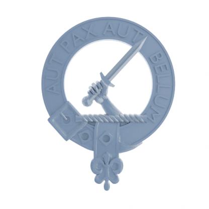 Clan Gunn plaque - render (not a photograph)