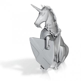 Scottish heraldic Unicorn