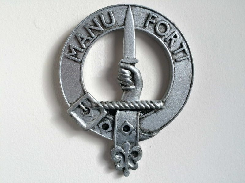 Clan MacKay crest model for 3d printing