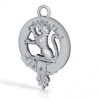 Clan Sutherland key fob