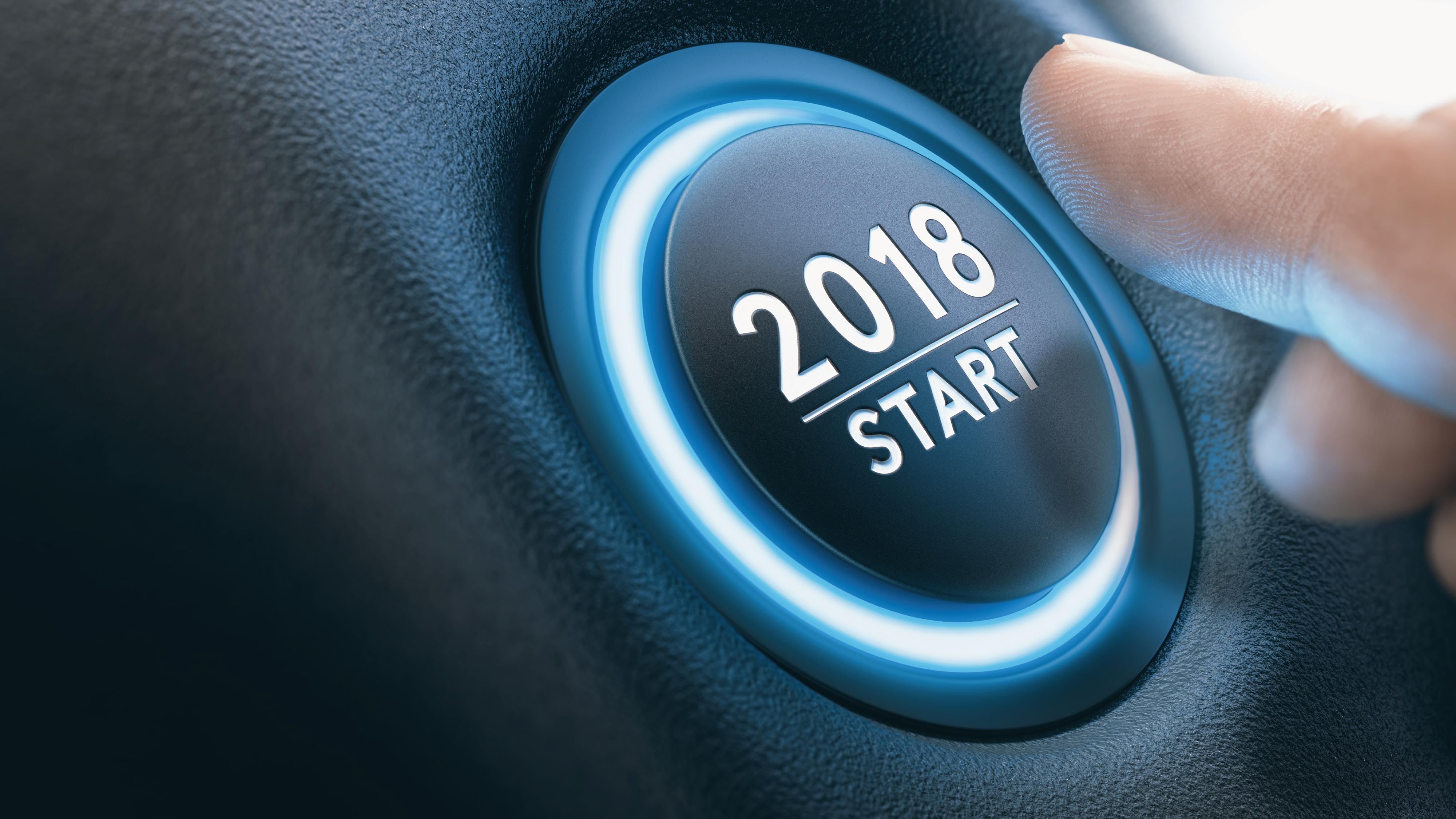 2018 Start Button