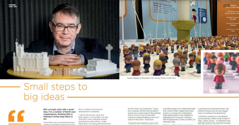 Aberdeen and Grampian Chamber of Commerce Business Bulletin June 2018 Feature