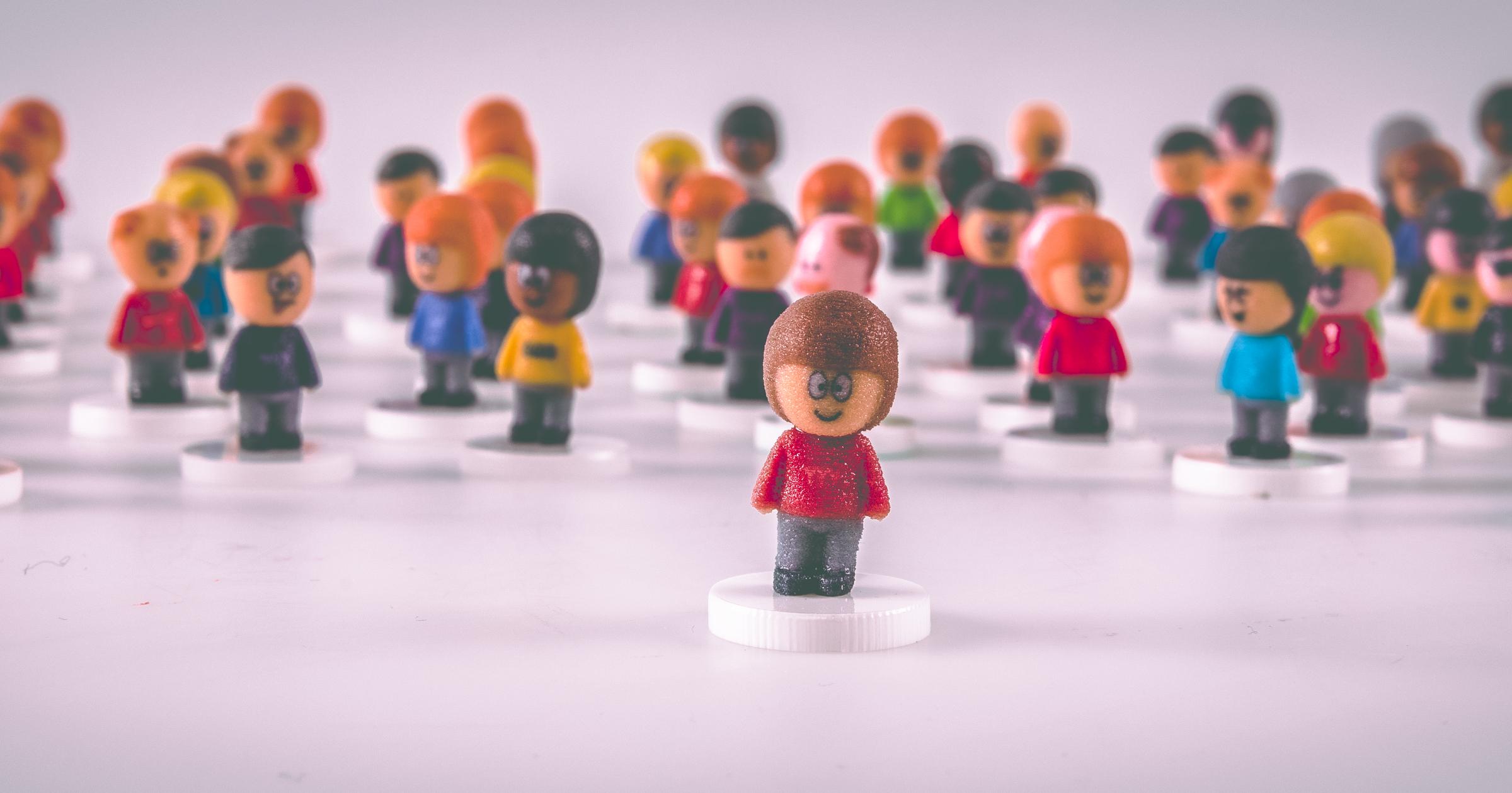3d printed unique avatars