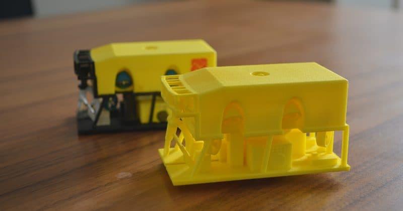 1:40 scale Class 3 ROV model
