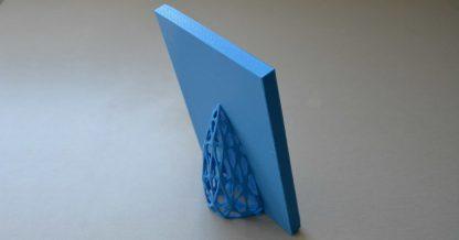 3d printed frame - rear view