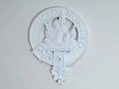 Clan MacKenzie crest in STL format for 3d printing