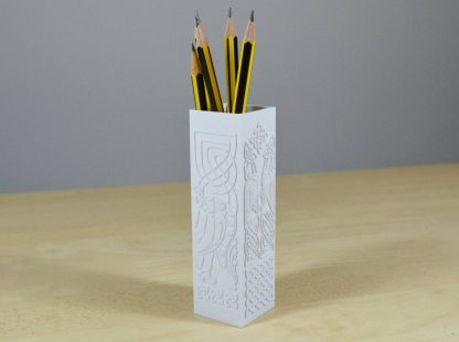 Celtic Design Pencil Holder