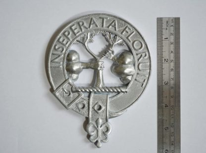 Clan Watson crest showing scale
