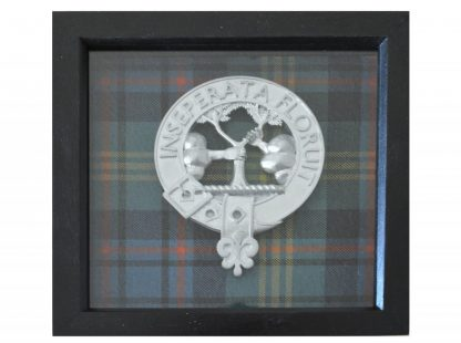 Watson crest, framed.