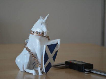 The Unicorn, the national animal of Scotland