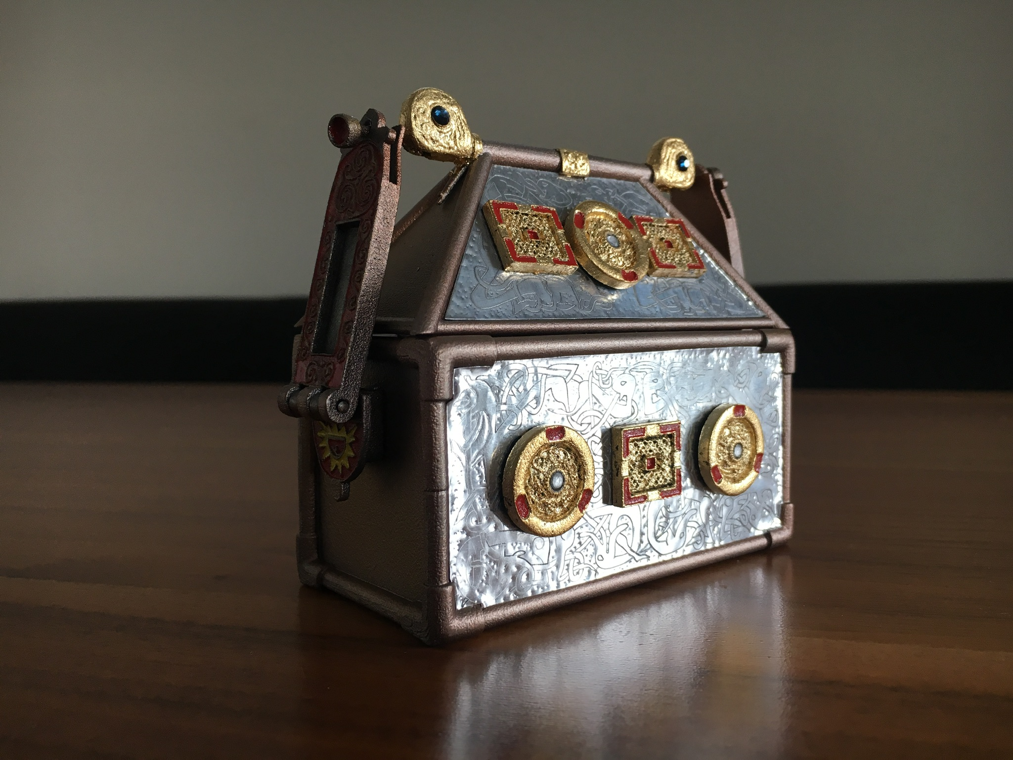 Replica Monymusk Reliquary reflections