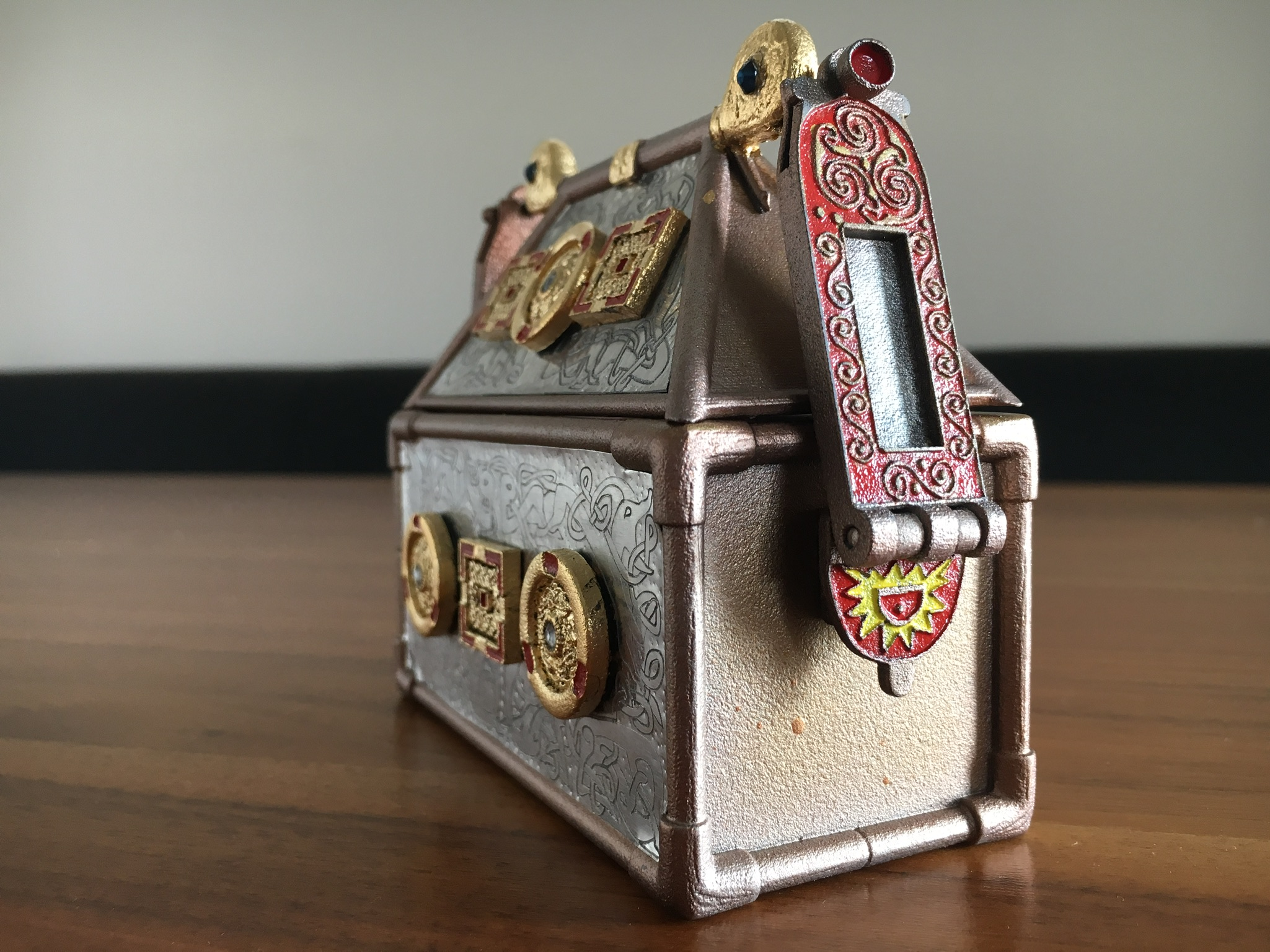 Replica Monymusk Reliquary side view