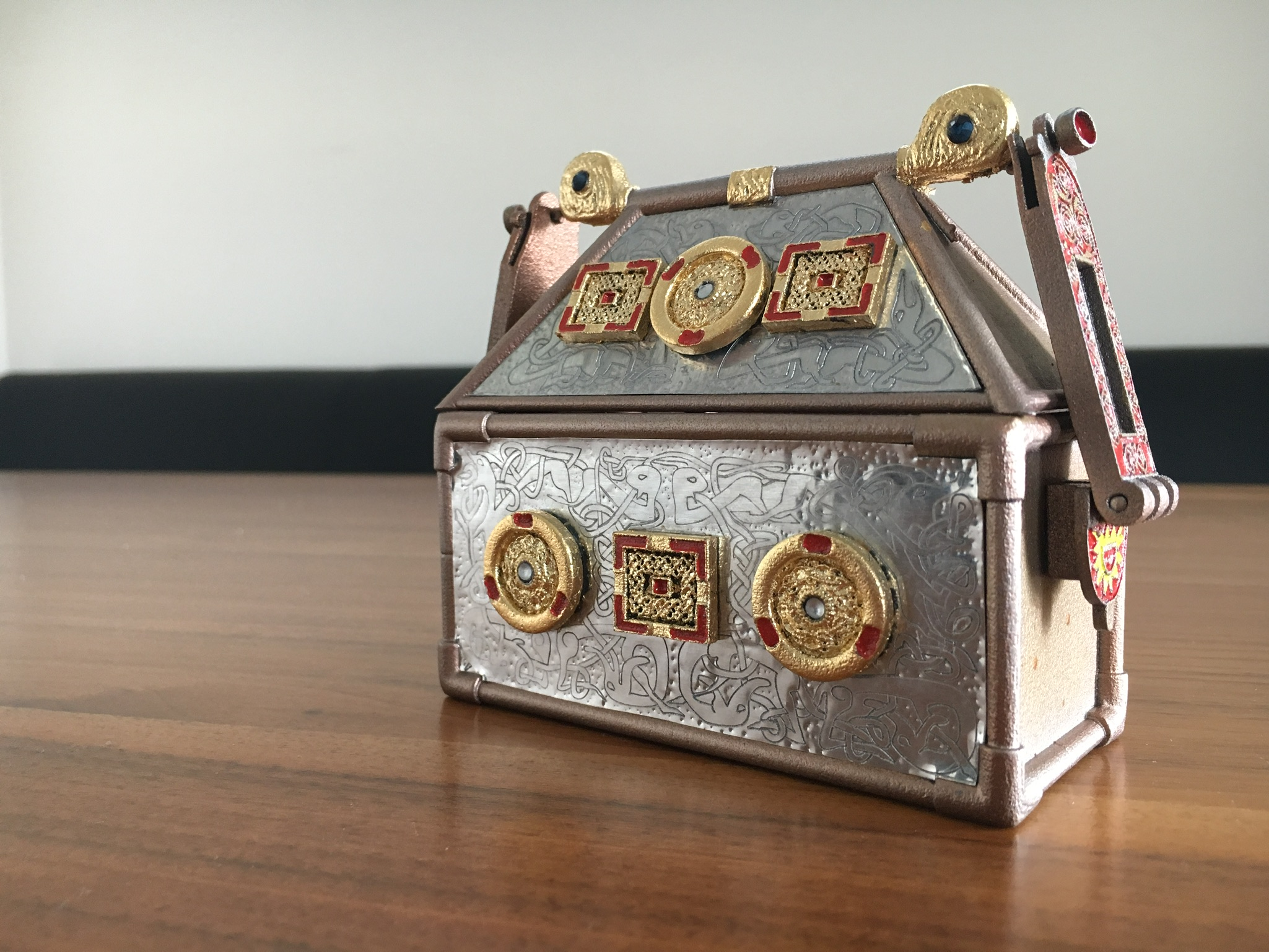 Replica Monymusk Reliquary front view