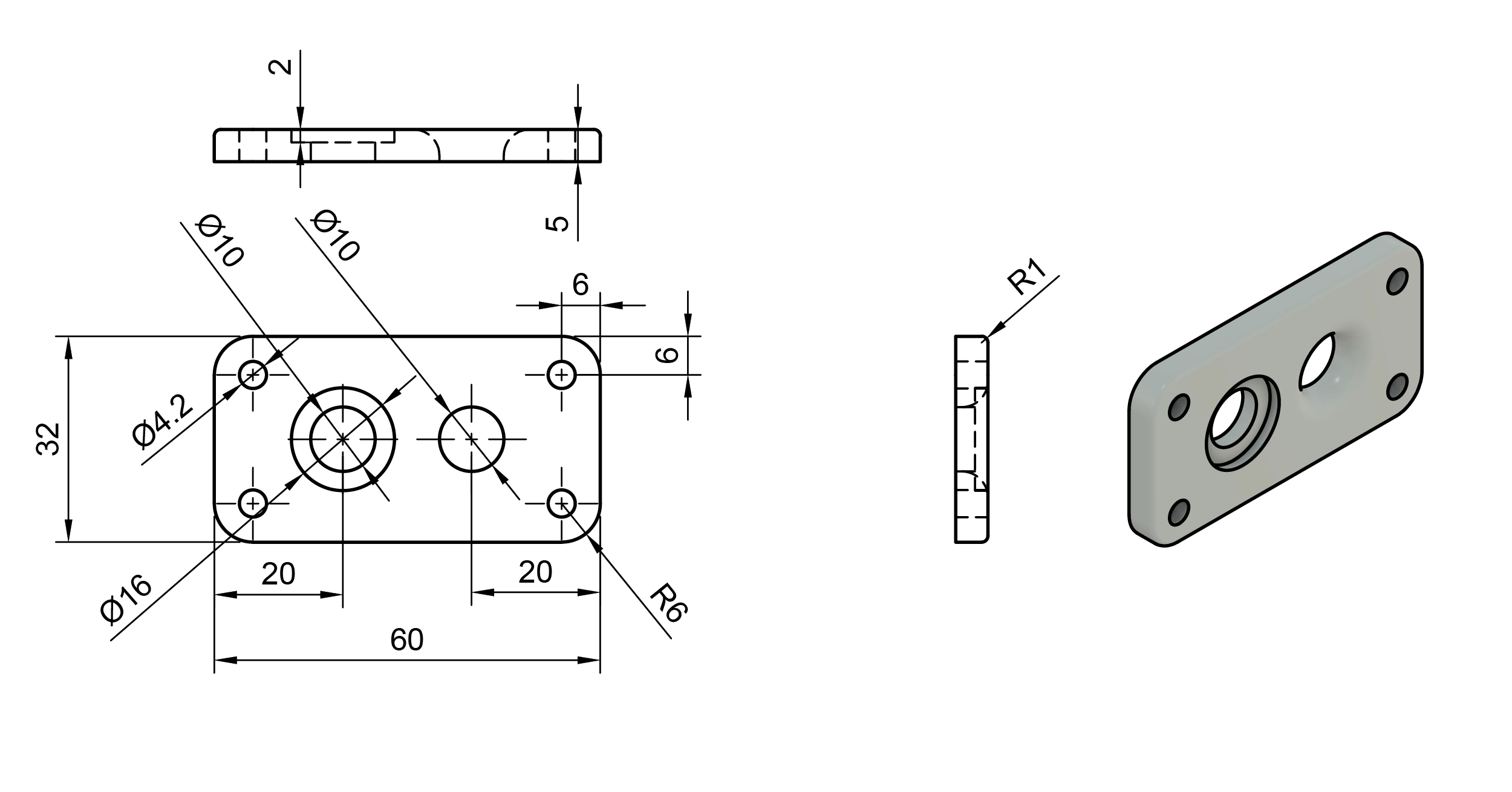 CAD Drawing Example
