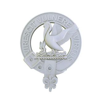 Stewart Clan Crest digital file for 3d printing
